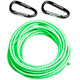 Swimmrunners Support Pull Belt Cord DIY 5m Neon Green
